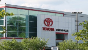 Heyward Allen Toyota Renovation