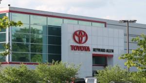 Heyward Allen Toyota Renovation