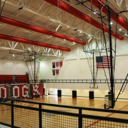 Morgan County HS Gym Interior