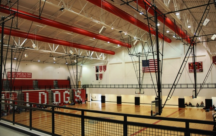 Morgan County HS Gym Interior