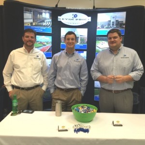 Kevin Hill, Ben Price, T.J. Gunter presenting at a recent trade show